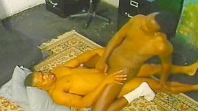 Gay thugs raw anal sex at the office...