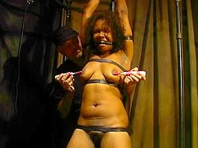 Nipples tickled...