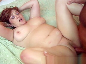 Chubby by horny cock...