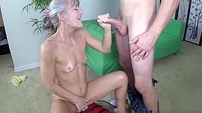 Grannys sex toy...