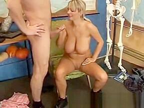 Horny big boobed milf from casualmilfsex dot com...