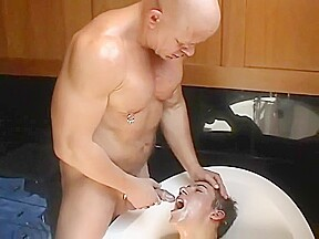 Akos piros makes twink drink his piss...