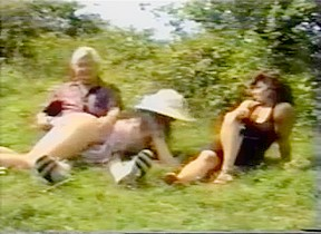 British mother daughter spanked outdoors...