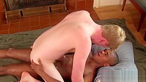 Black stud cock ring ass fucks super hard...