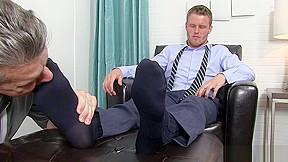 Real gay foot...