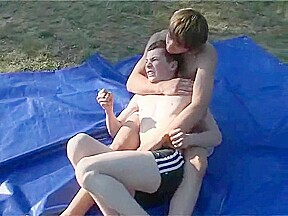 Outdoor wrestling boys 3...