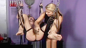 Mistress nicolette has no mercy for her helpless...