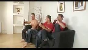 Three got bored so they had sex...
