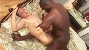 Straight black man white dude hard...