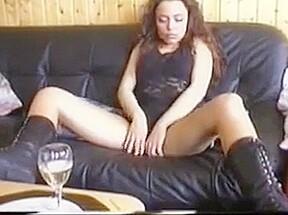 Nylon fetish hot girl job...