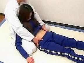 Massage of volleyball player f70...
