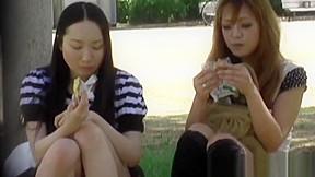 Awesome voyeur footage of japanese beauties...