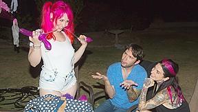 Joanna angel tommy pistol in butt fun scene...