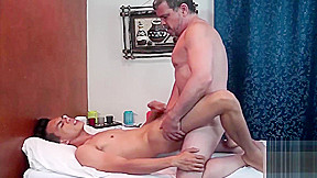 Not Daddy Enjoying His Erotic Massage