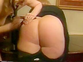 Asses get spanked...