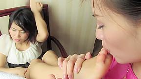 Cute callie worships kikos perfect little pt 4...
