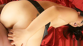 Evelyn lin in stockings...