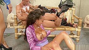 Three Horny Sluts Go Crazy Over Piss