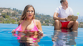 Karmen Karma & Keiran Lee in Learning Breaststroke - BRAZZERS