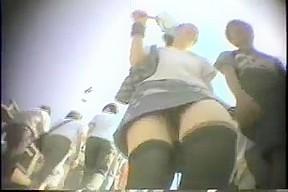 Upskirt two...
