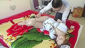 Chinese nurse bondage...