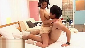 Japanese busty teen best romantic sex...