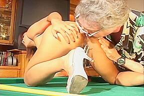 Lyla lei pussy fucked pool table...