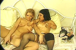 Bridget powers and amy amore play with their...