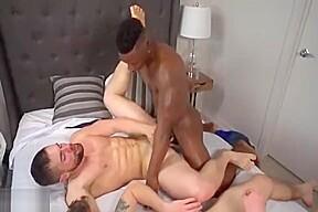 Bareback play with 3 hot guys...