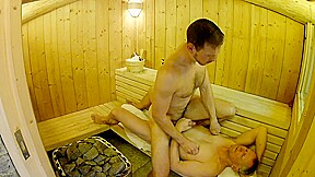 British daddy boy homemade amateur sauna fuck bareback...