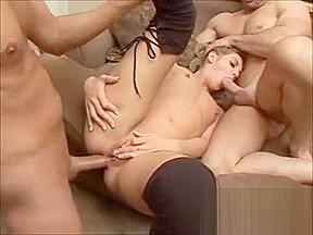 Brianna vicious ass ramming anal ass blonde blowjob...