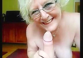 Granny priceless bj and mistress gives huge cock...
