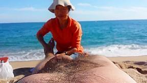 Double nude massage...