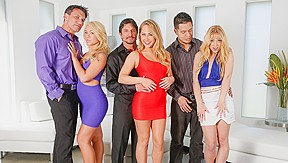 Katarina kay carter cruise tommy gunn in neighborhood...