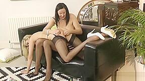 Classy lesbians play...