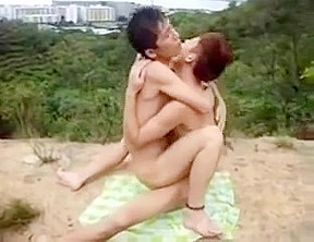 Chinese passion outdoors...