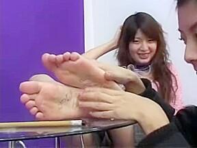 Teen two tickling...