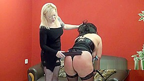 Youporn bbw slave andreas hard spanking by blonde...