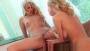 Twin blonde lesbians hot action xxx...