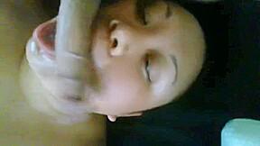 Me an my samoan i been tea bagging...