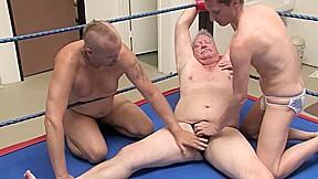 Erotic male wrestling wrestling slaves attack...