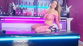 Mckensie in rlc playboy bar...
