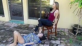 Feet naomi swann humiliation gagging slave...