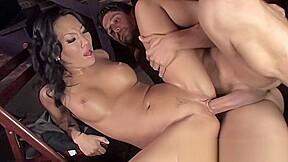 Getting stuffed full big dick...