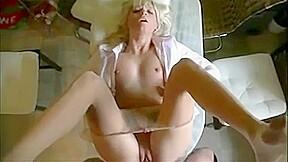 Amateur blonde fucking pov...