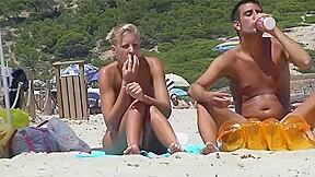 European blonde finger...
