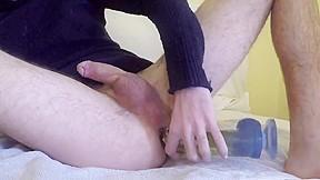Super massive cumshot with squirt...