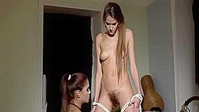 Horny femdom toying...