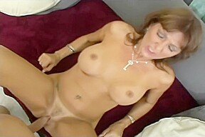 Big titted sexy milf gets creampied sex mummy...