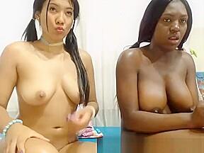 Asian black ass live on kakaducams com...